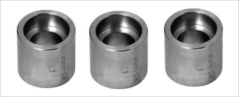 Forged socket weld full coupling stainless steel