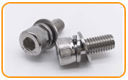 Monel K500 Sems Screw