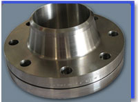 Astm a182 f316 wn flange, rf, 150 lb, 4 inch, sch40 at our Warehouse Mumbai,India