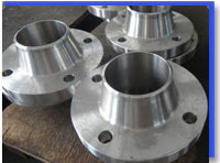316L Stainless Steel WN Flanges at our Warehouse Mumbai,India