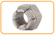 Nickel 200 Flex Lock Nut