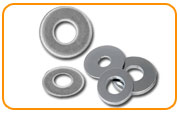 Nickel 200 Plain / Flat Washer